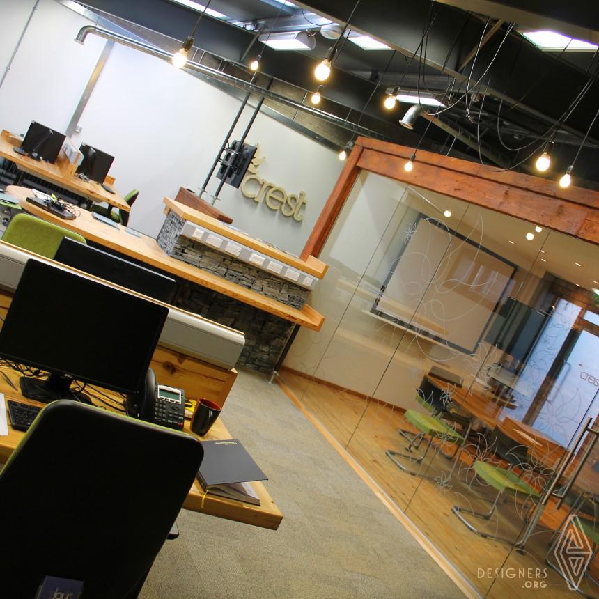 CREST Hub Interior Eco-friendly interior design