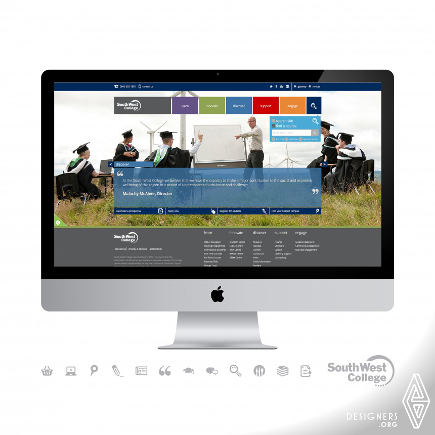 South West College E-learning Website