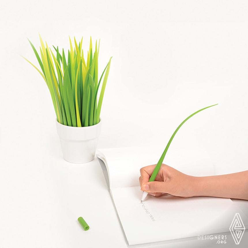 POOLEAF Plastic ball pen