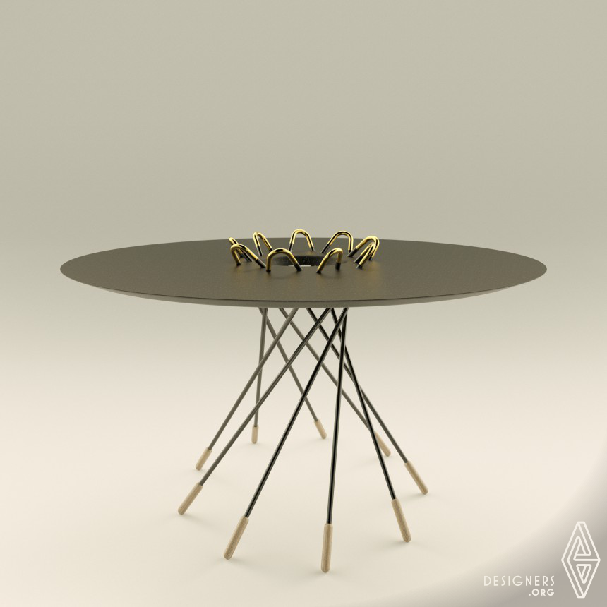 Black Widow Table