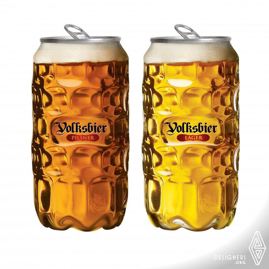 Volksbier PET container