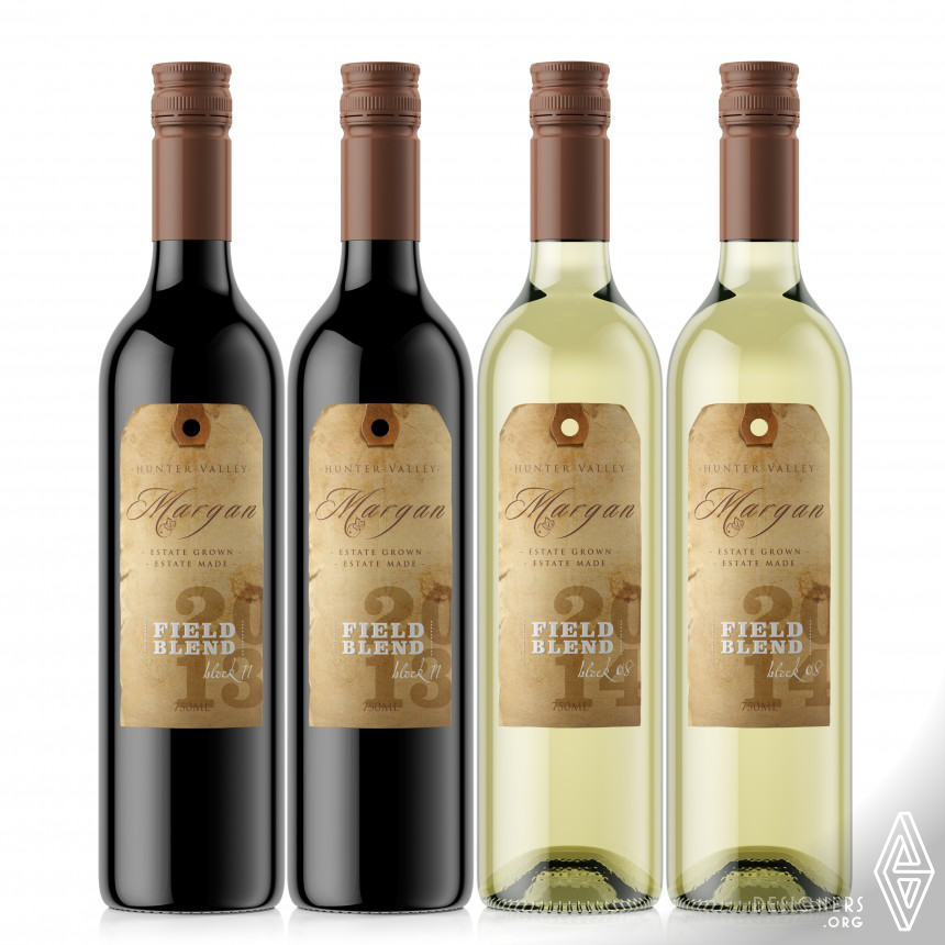Margan-Field Blend Wine label