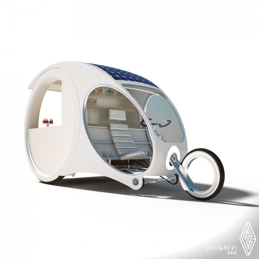 Inspirational Mobile Kiosk Design