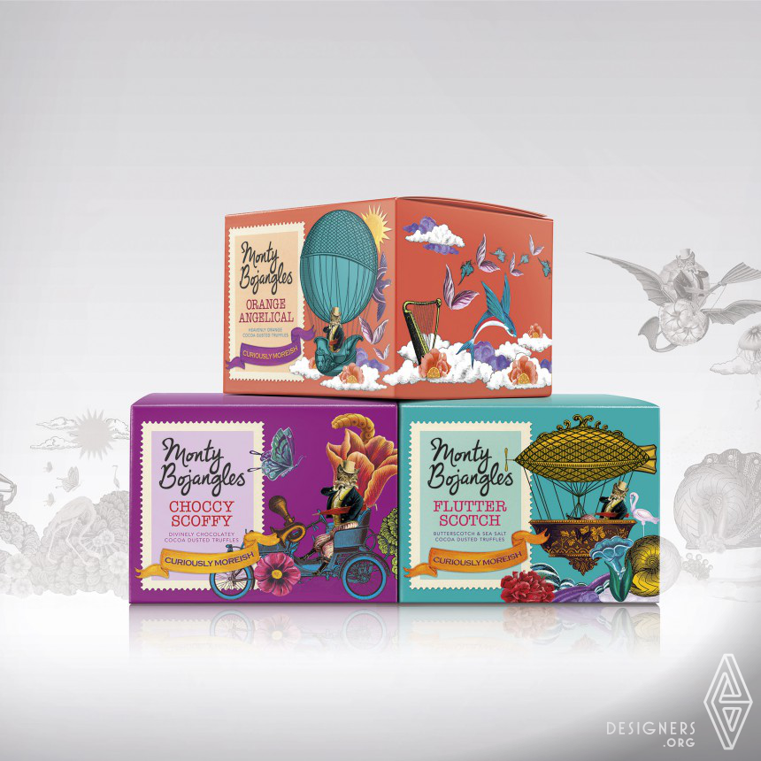 Monty Bojangles Confectionery Packaging