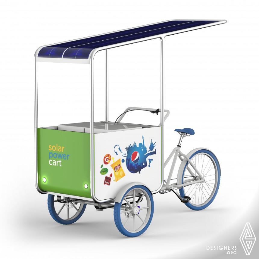 Pepsi Solar Cart Vending Cart Solar Cooler