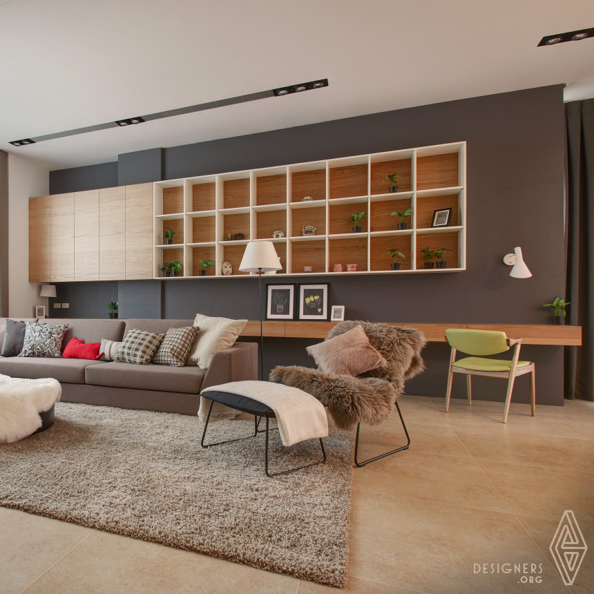 Sharing Lounge Residential House