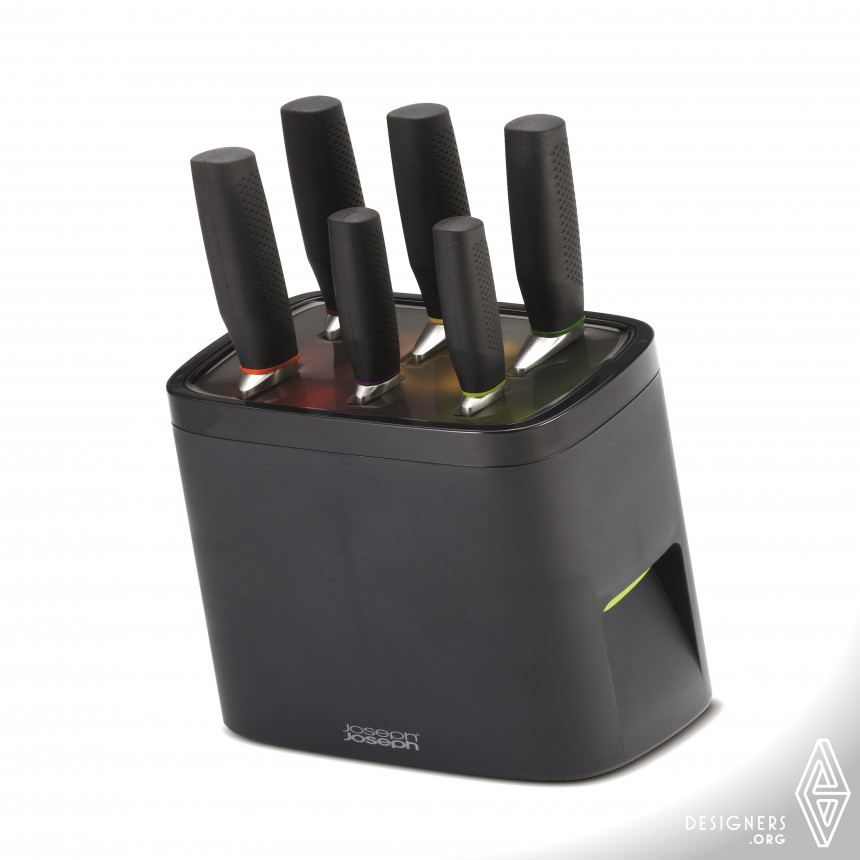 LockBlock Self Locking Knife Block