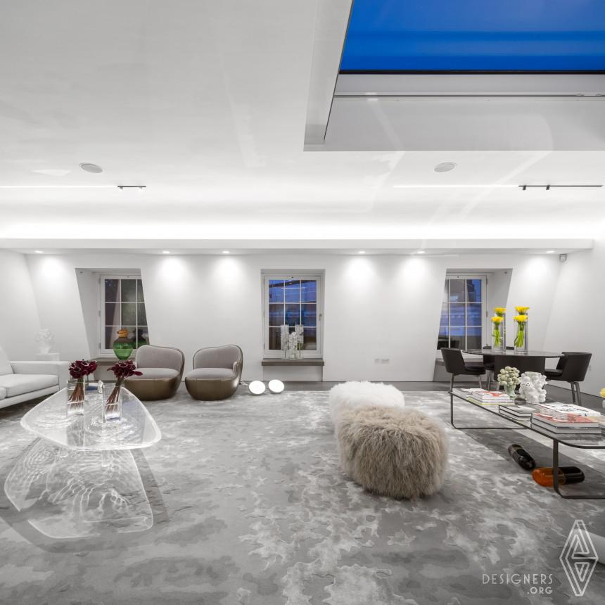 London Penthouse Interior Design