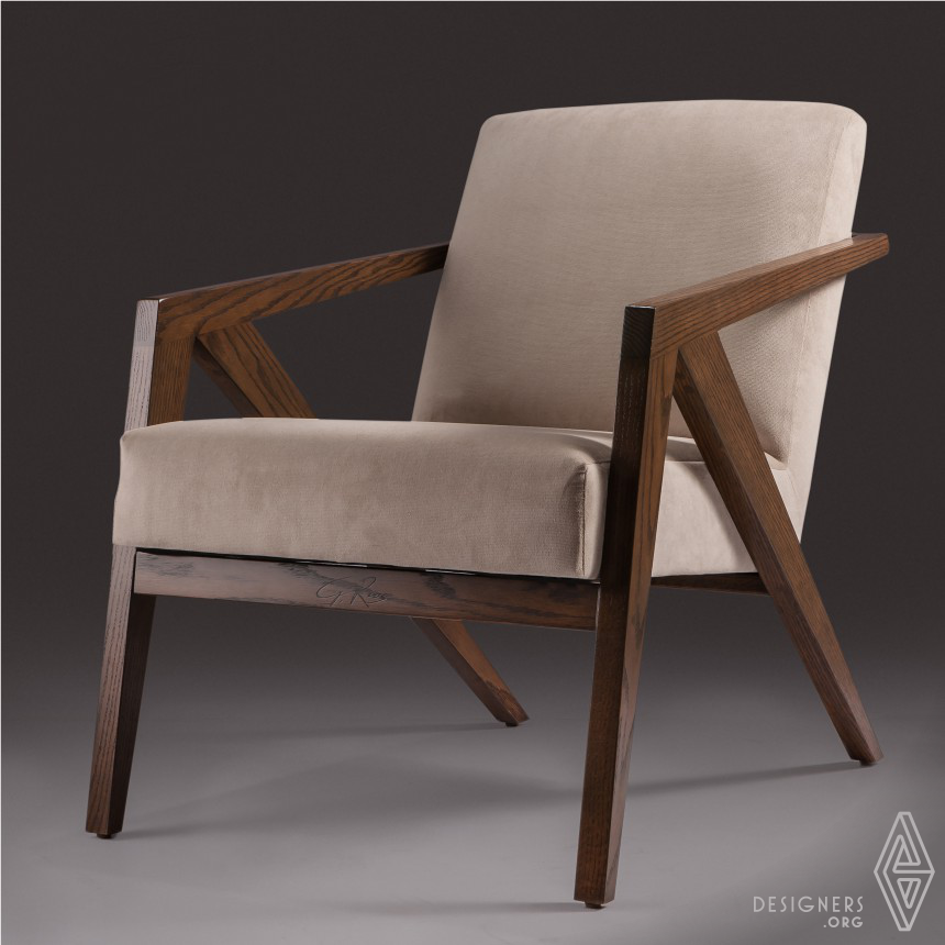 Geometric Lounge Chair/Dining Chair