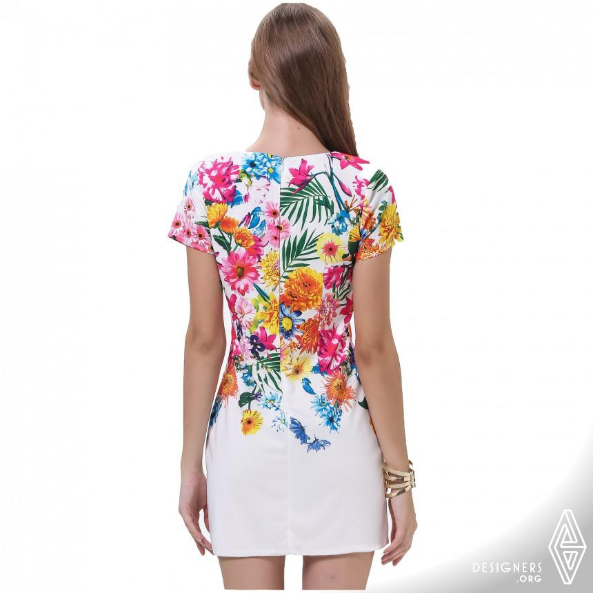 Floral Dress Fashion Image
