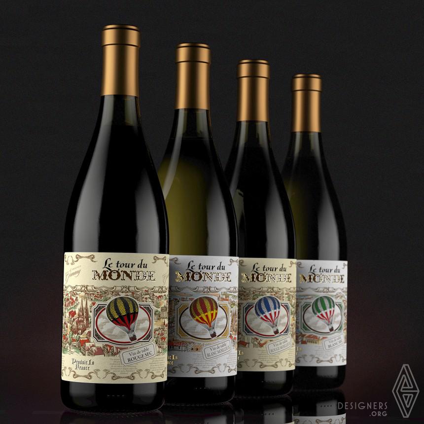 Inspirational Series of European wines Design
