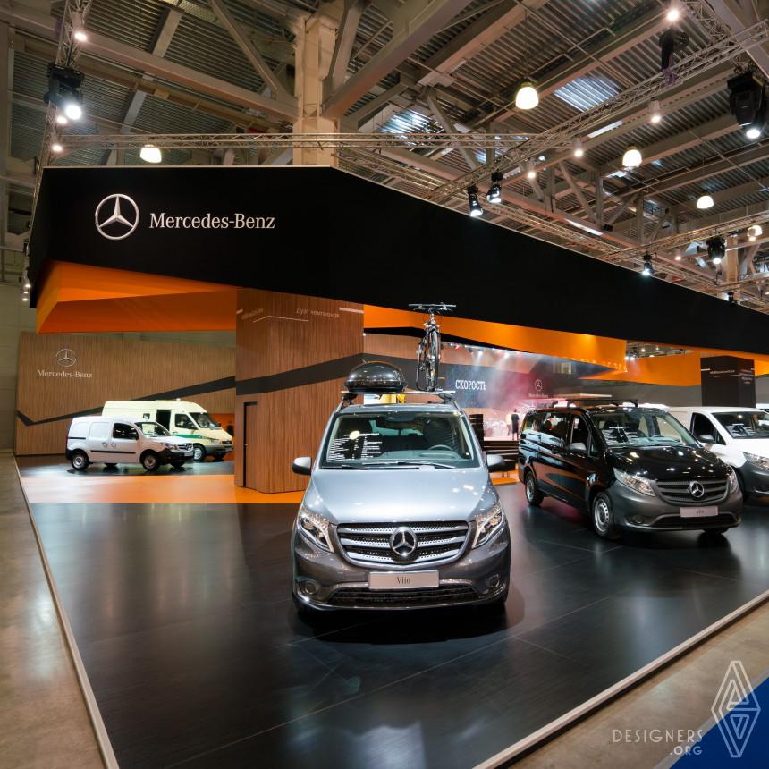 Mercedes-Benz Russia Exhibition Design