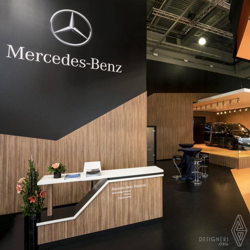 Mercedes-Benz Russia Exhibition Design Image