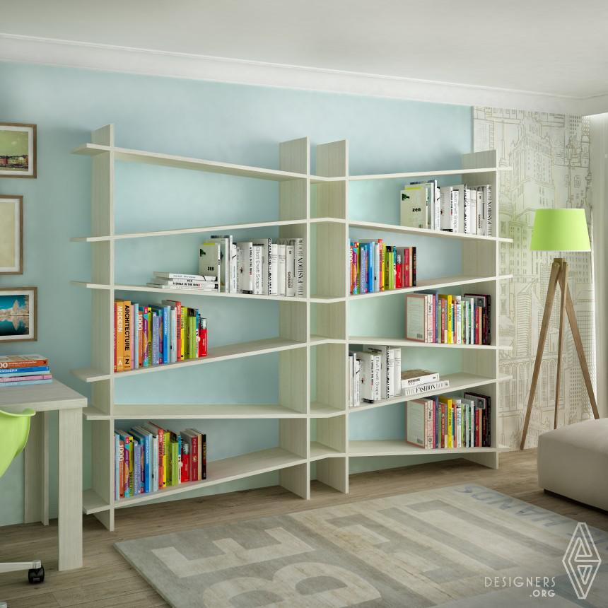 AngledSHELF Bookshelf