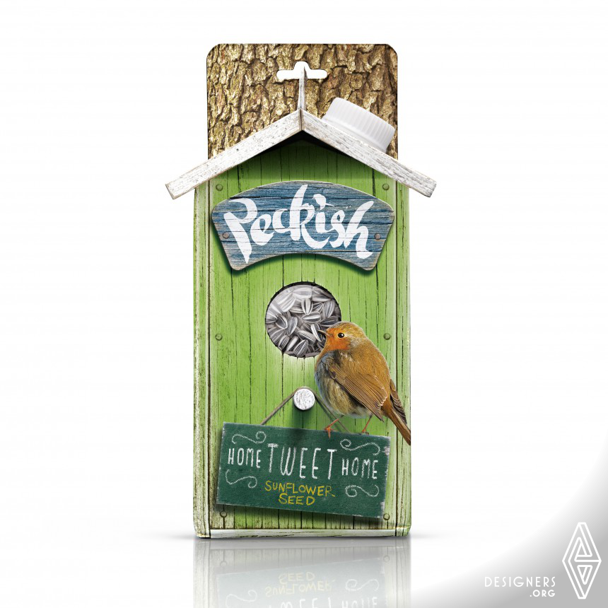 Peckish Bird Food Packaging