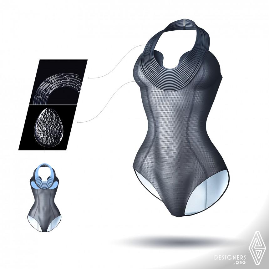 Inspirational Life-saving swimwear Design