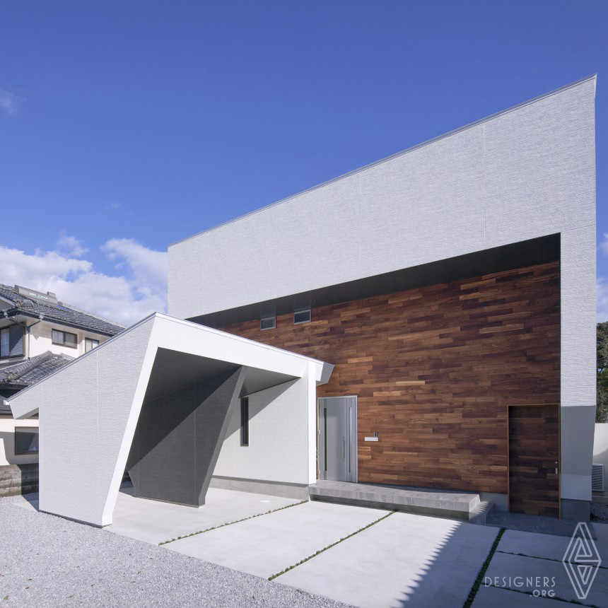 I3-house [ Modeling on the hill ] Residential House
