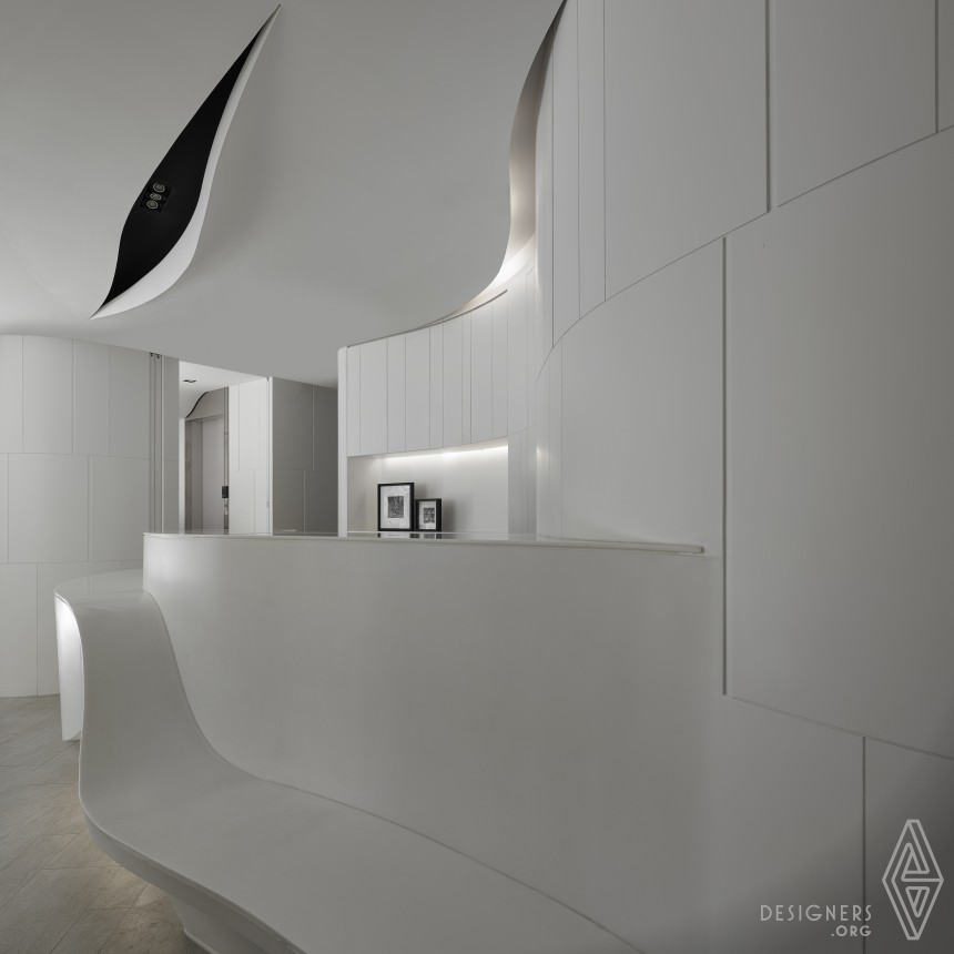 Curvature / Dimension and Extension Dentist Clinic