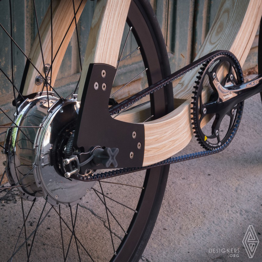 Wooden ebike Science meets Sustainability Image