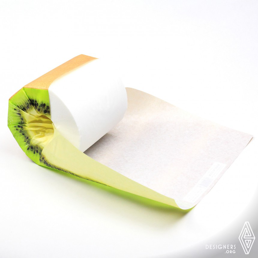 The Fruits Toilet Paper Packaging Image