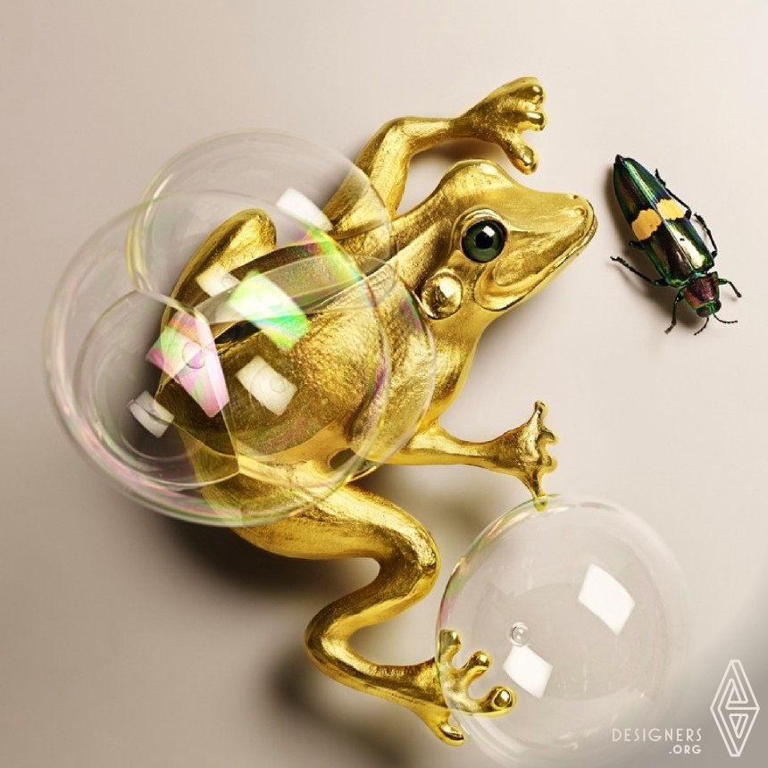 Animal Instinct Wearable Luxury Art Image