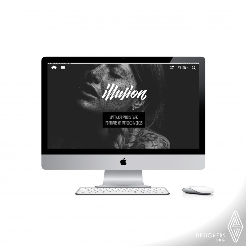 Illusion (Full-Screen Redesign)  Website