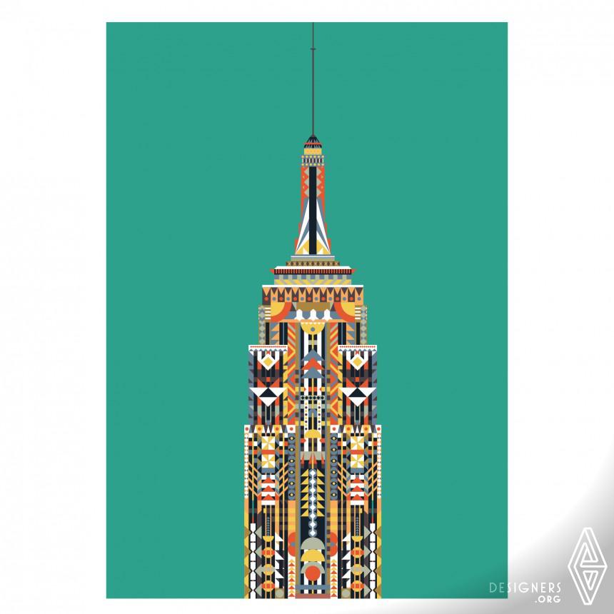 Inspirational Travel Poster series  Design