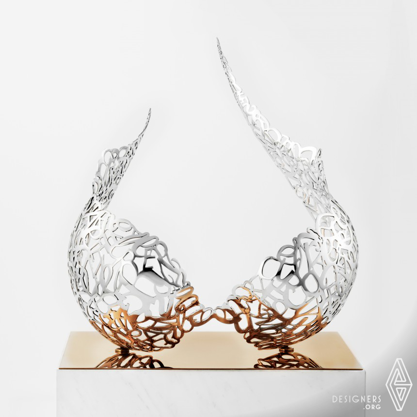 The Wings Sculpture Art