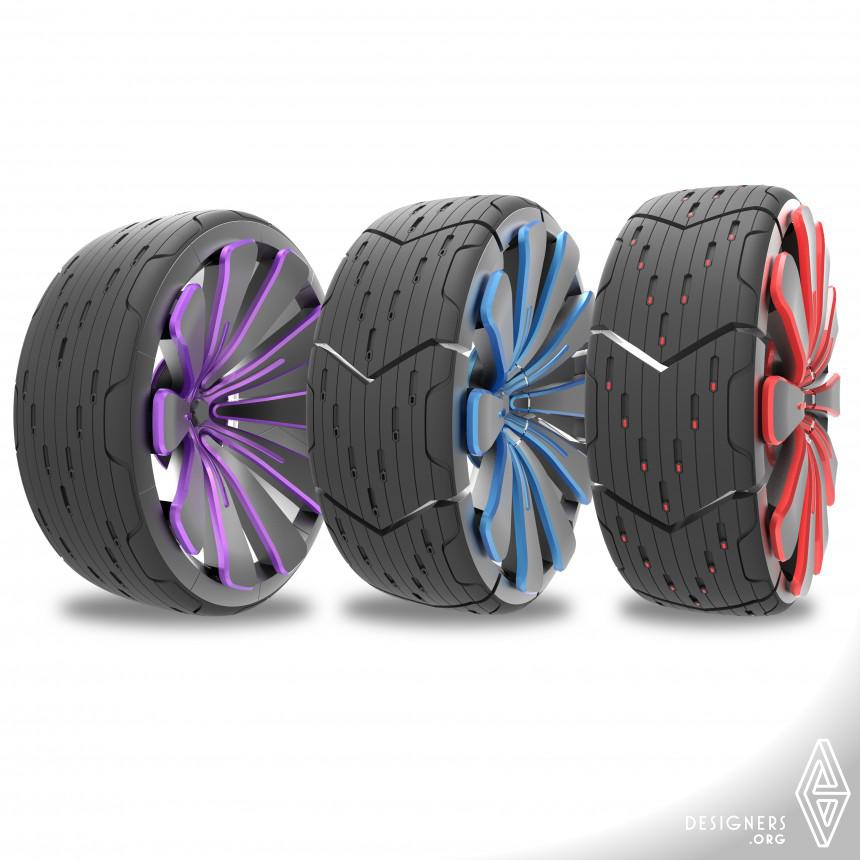All Road Transform Concept Tire