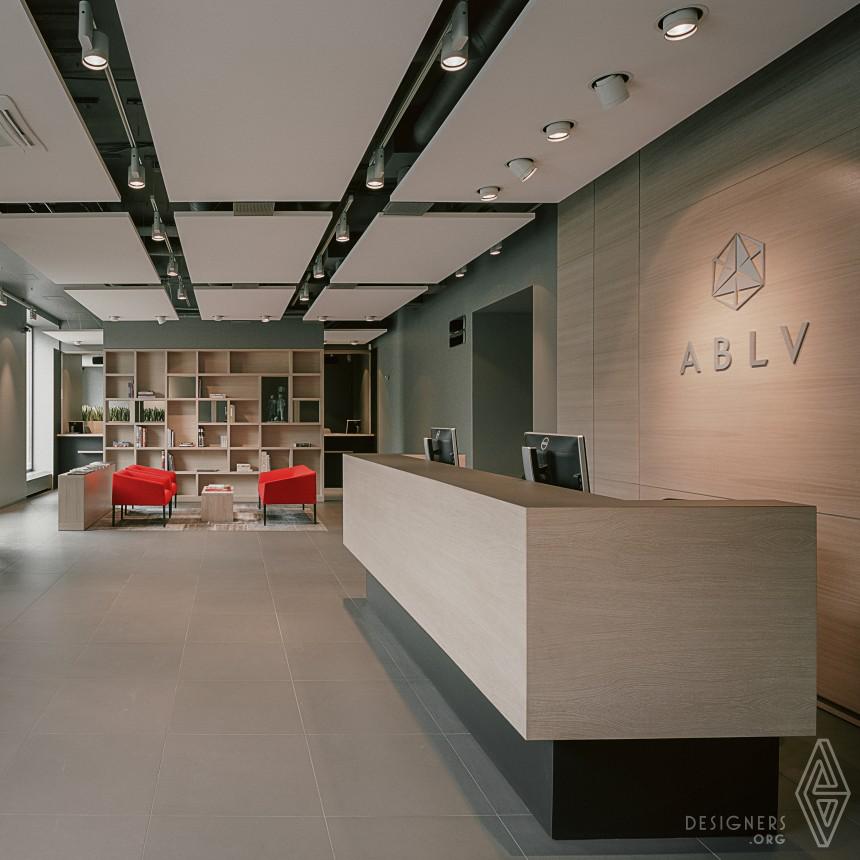 A B L V  Bank  Interior design