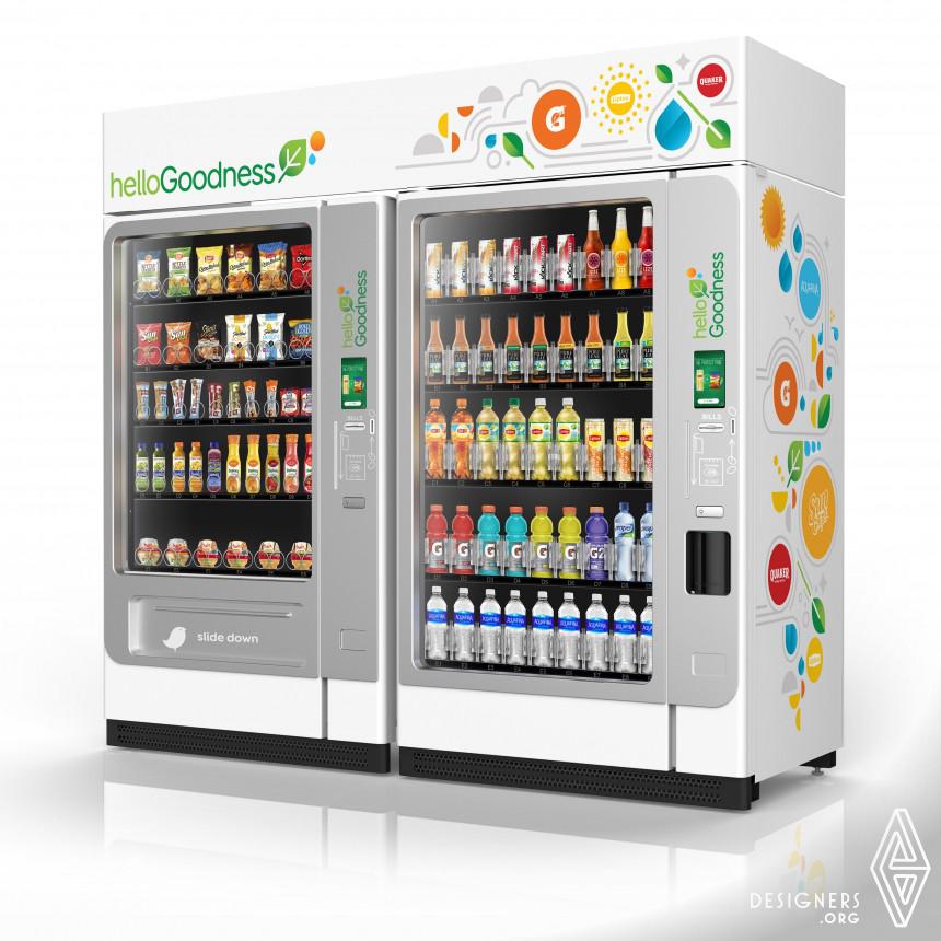 helloGoodness Vending Machine