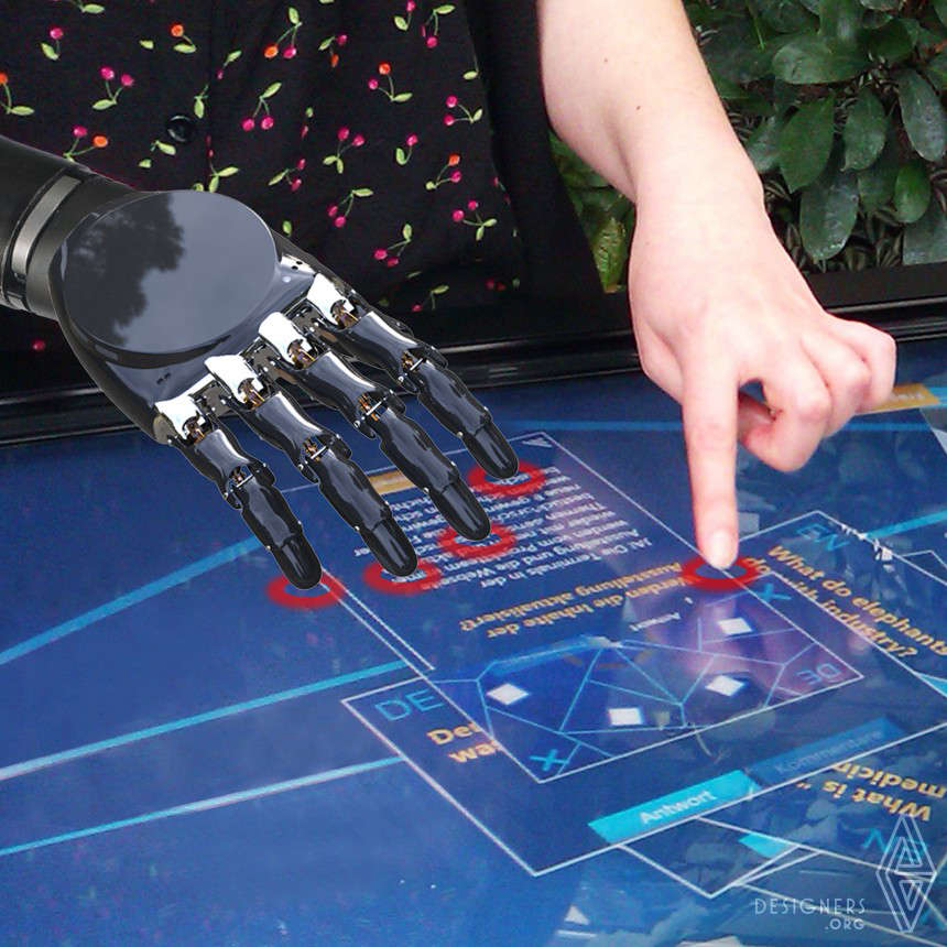 Inspirational Smart Prosthetic Hand Design