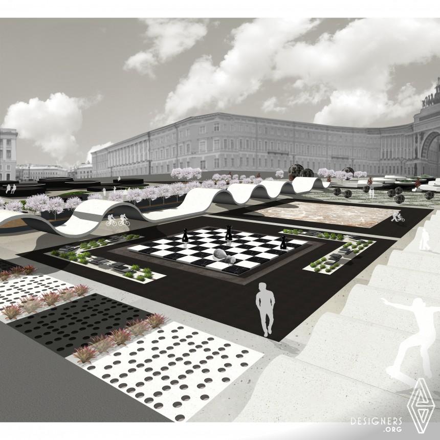 Winter Palace Square Square Design Urban Planning