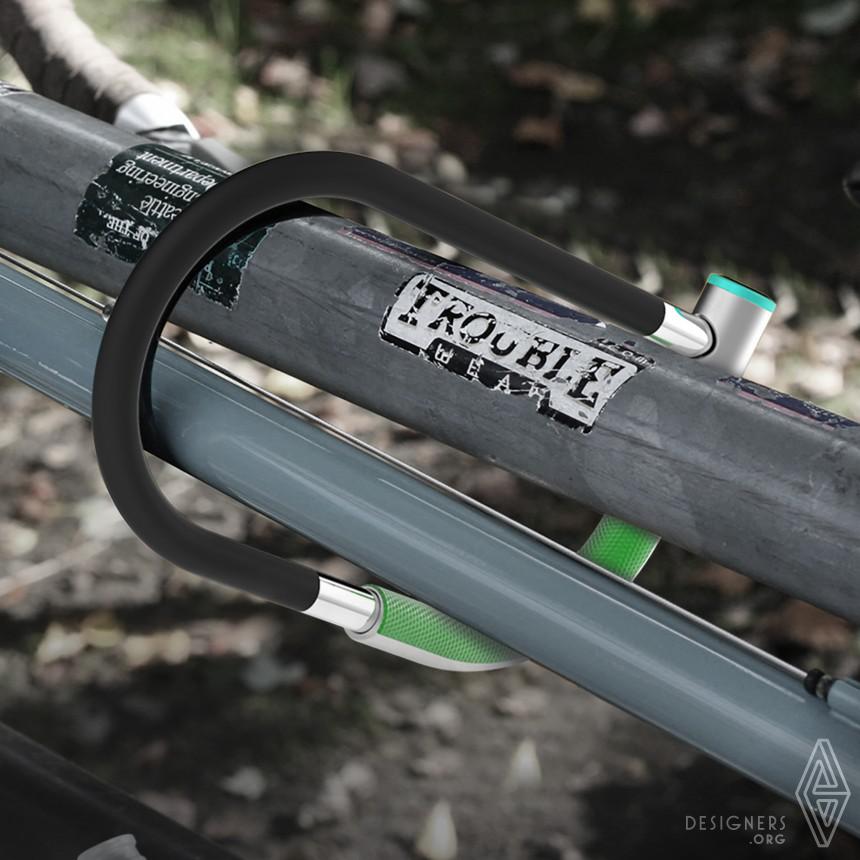 DigiLock Smart Bike Lock Image