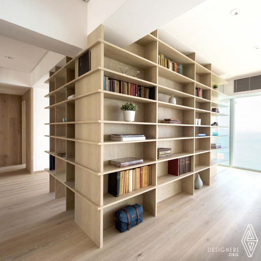 Cabinets Curiosities Residential apartment
