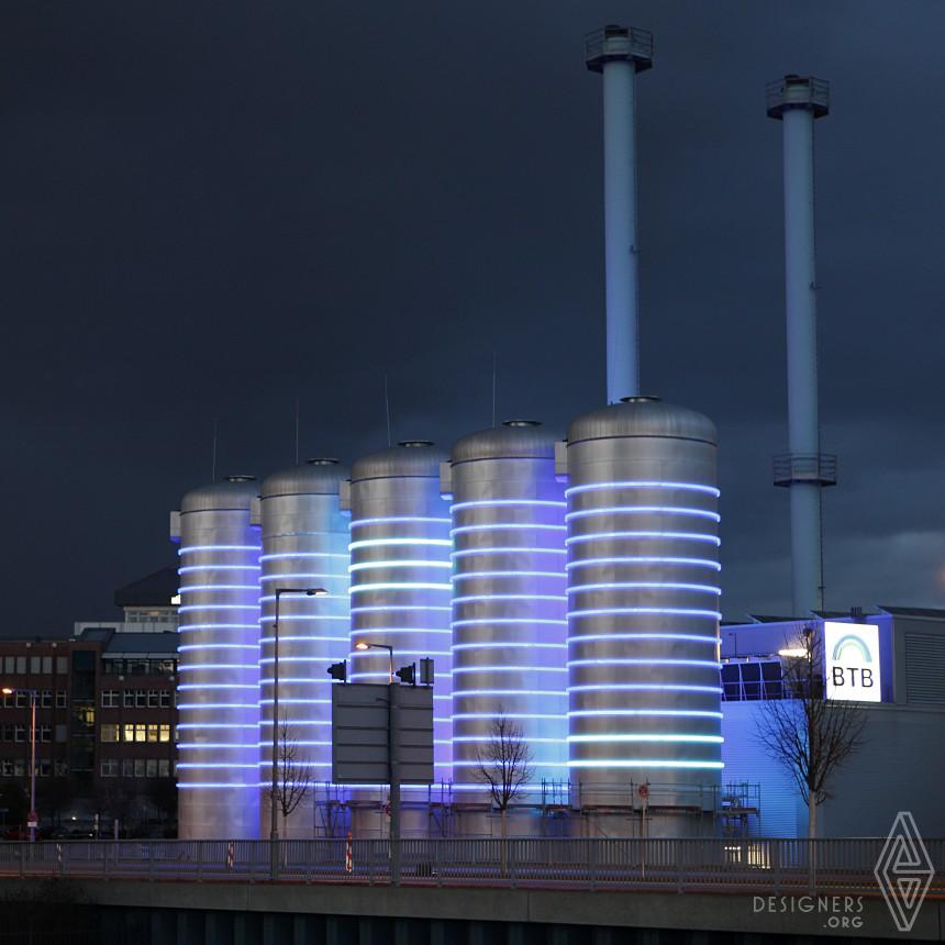 Glowing Light installation