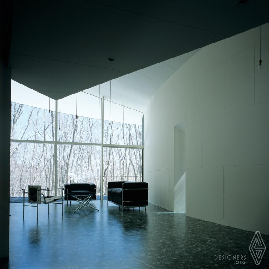 Gallery in Kiyosato Villa with Exhibition Space Image