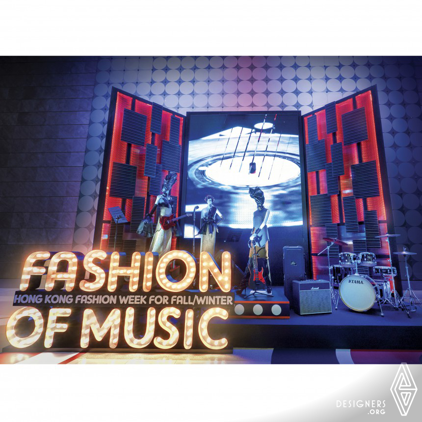 Fashion of Music Installation space