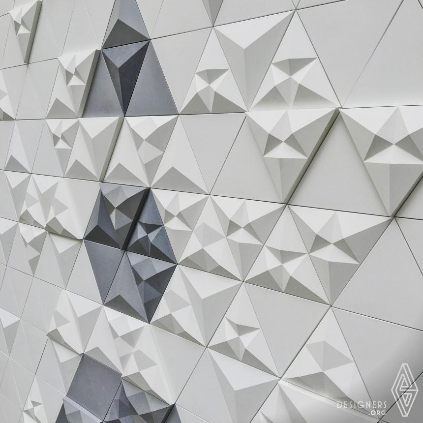 Inspirational Modular Concrete Tile Series Design