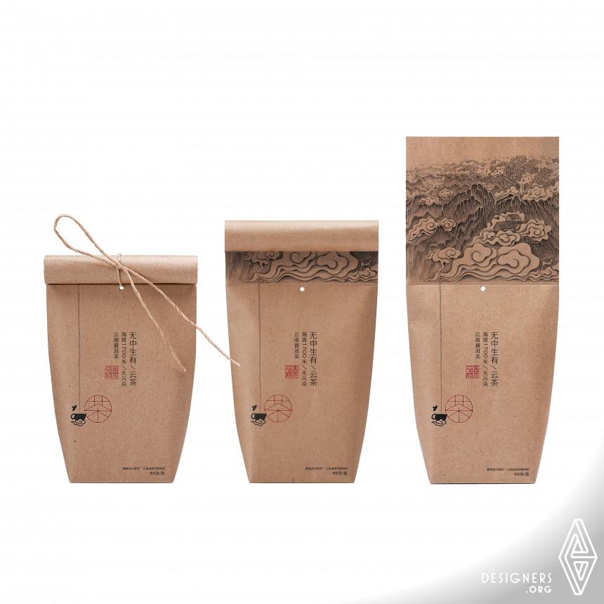 Cloudy Tea Tea packaging