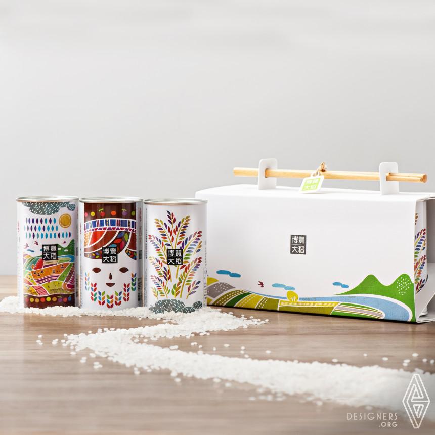 Brown's Rice Packaging Rice Packaging