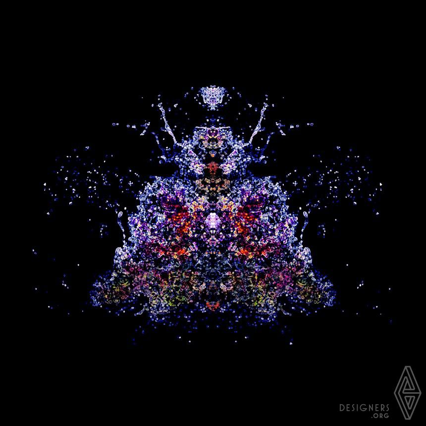 Waves Entropy Digital Art