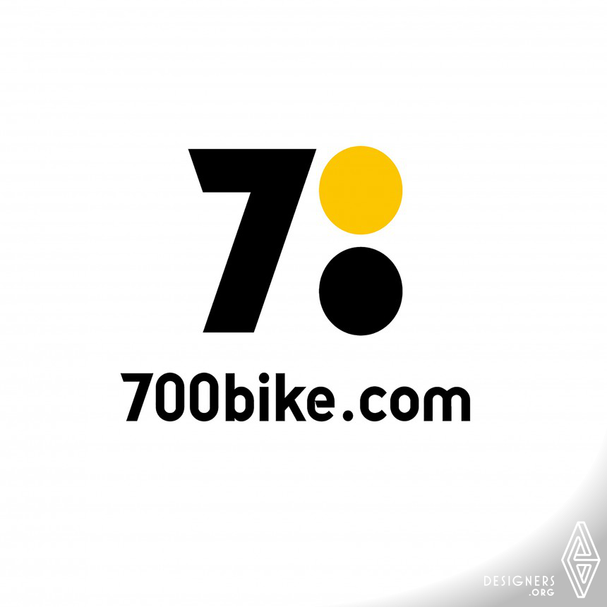 700bike Logo and VI