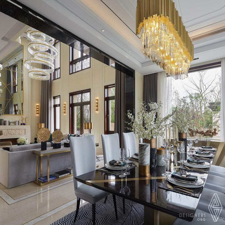 Shanghai CIFI Park Mansion Villa West  A Residential design