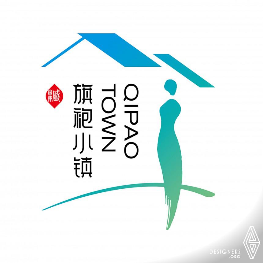 Qipao Town Logo and VI