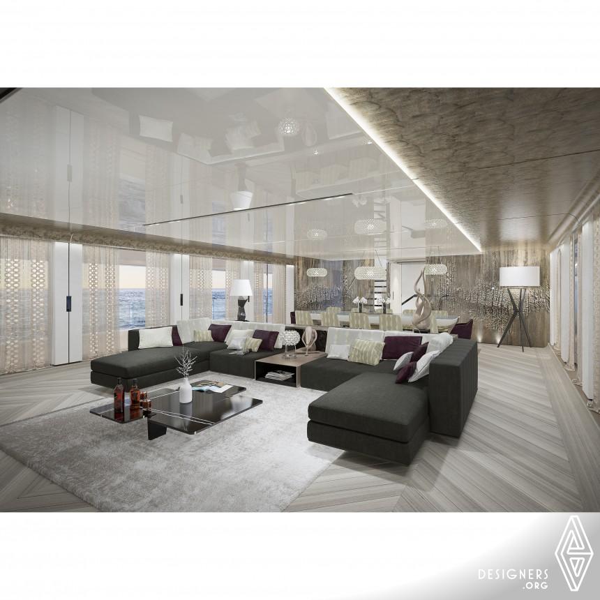 Aouda 63  Yacht Interior