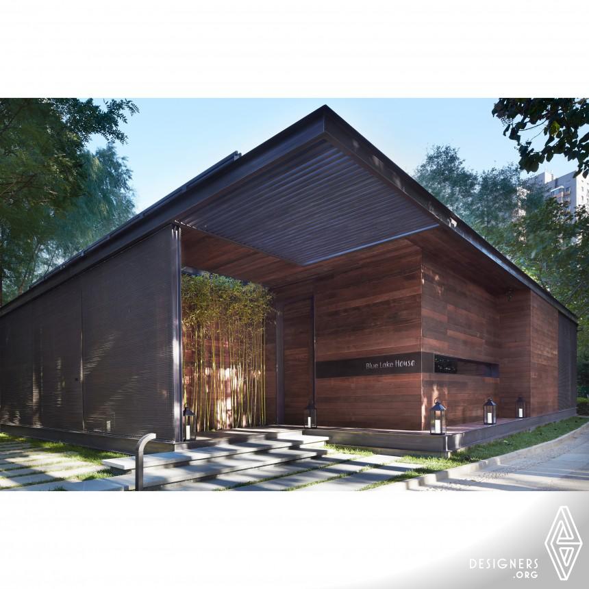 Blue Lake House  Architecture  Interior