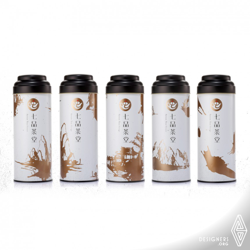 Seven Tea House  package for tea Image