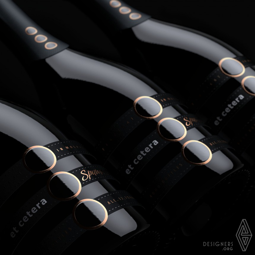 Et Cetera Spumante Wine Label