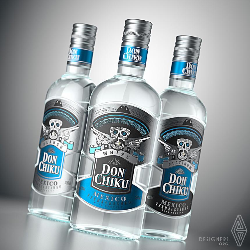 Don Chiku Tequila Packaging Design